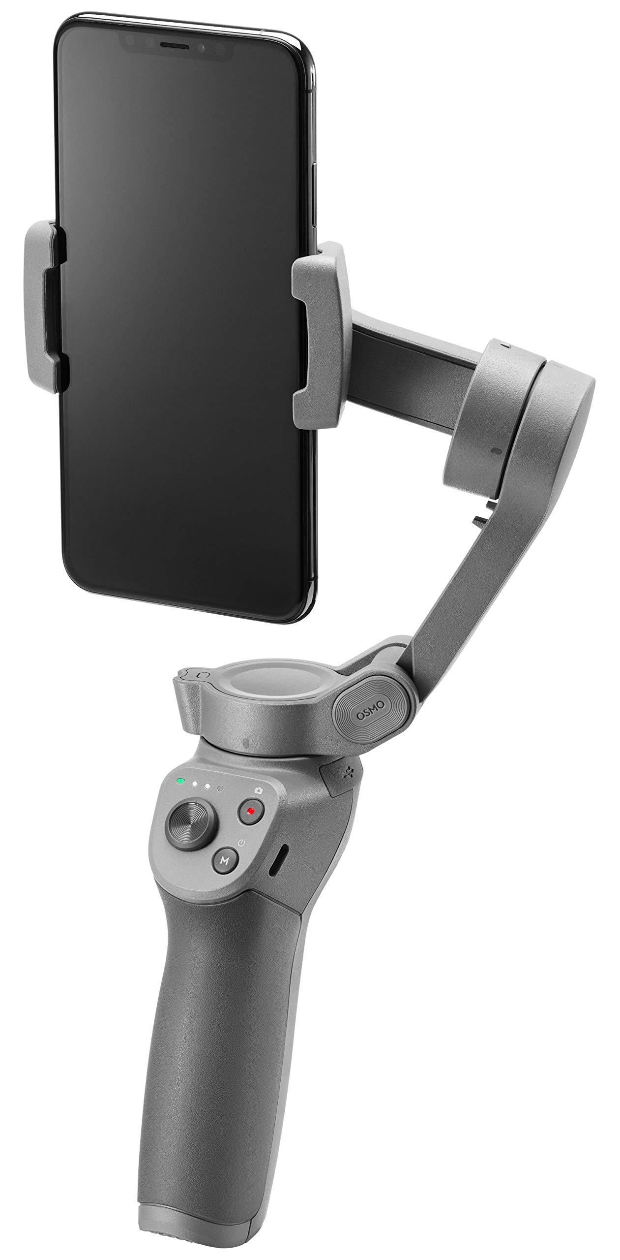 DJI OSMO Mobile 3 Lightweight and Portable 3-axis Handheld Gimbal Stabilizer Compatible with iPhone & Android Phones by DJI