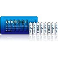 Panasonic Eneloop, Bk-3Mcce/8Le, Ready-To-Use Ni-Mh Accu, Aa Mignon, 8 Stuks, Min. 1900 Mah, 2100 Oplaadcycli…