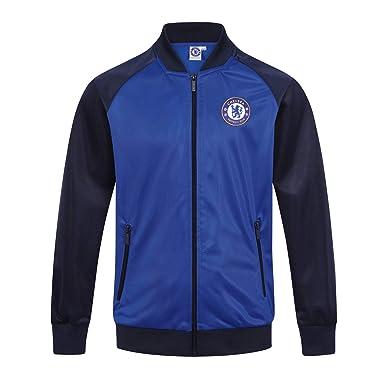 714b01d25e3f2 Chelsea FC officiel - Veste de survêtement thème football - style rétro -  garçon  Amazon.fr  Vêtements et accessoires
