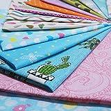"""Misscrafts 50pcs 8"""" x 8"""" (20cm x 20cm) Top Cotton"""