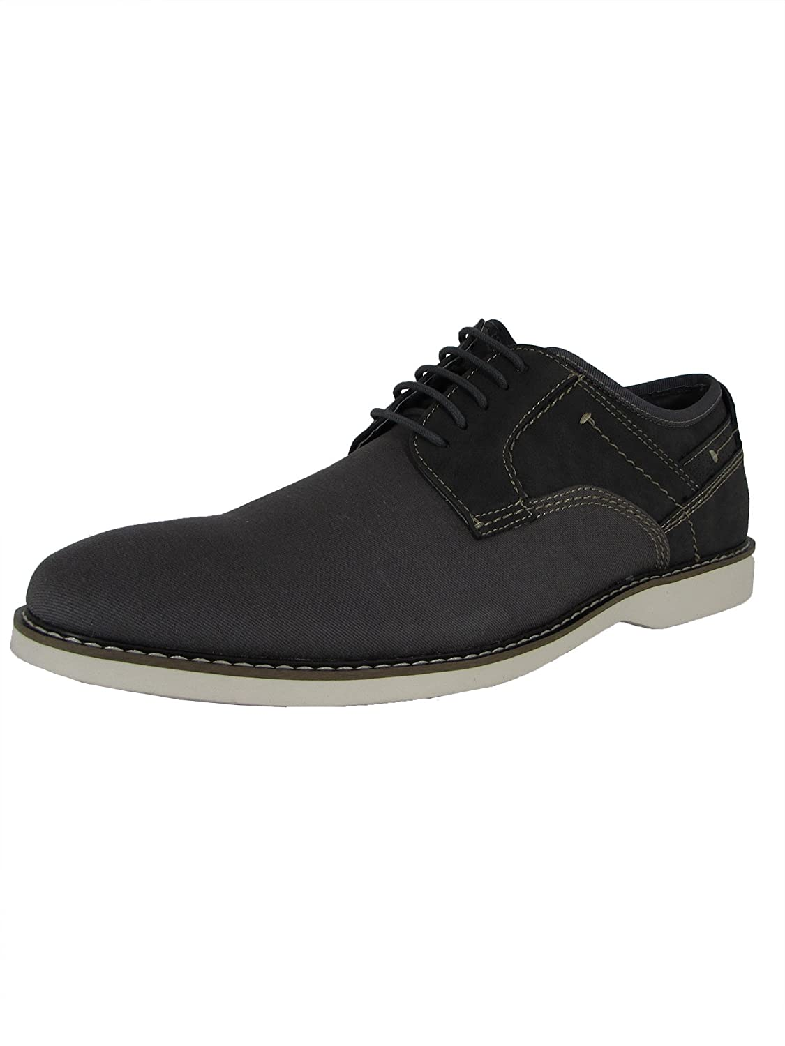 127291c8e8b Amazon.com | Madden by Steve Mens M-Deene Lace Up Derby Shoes, Grey ...
