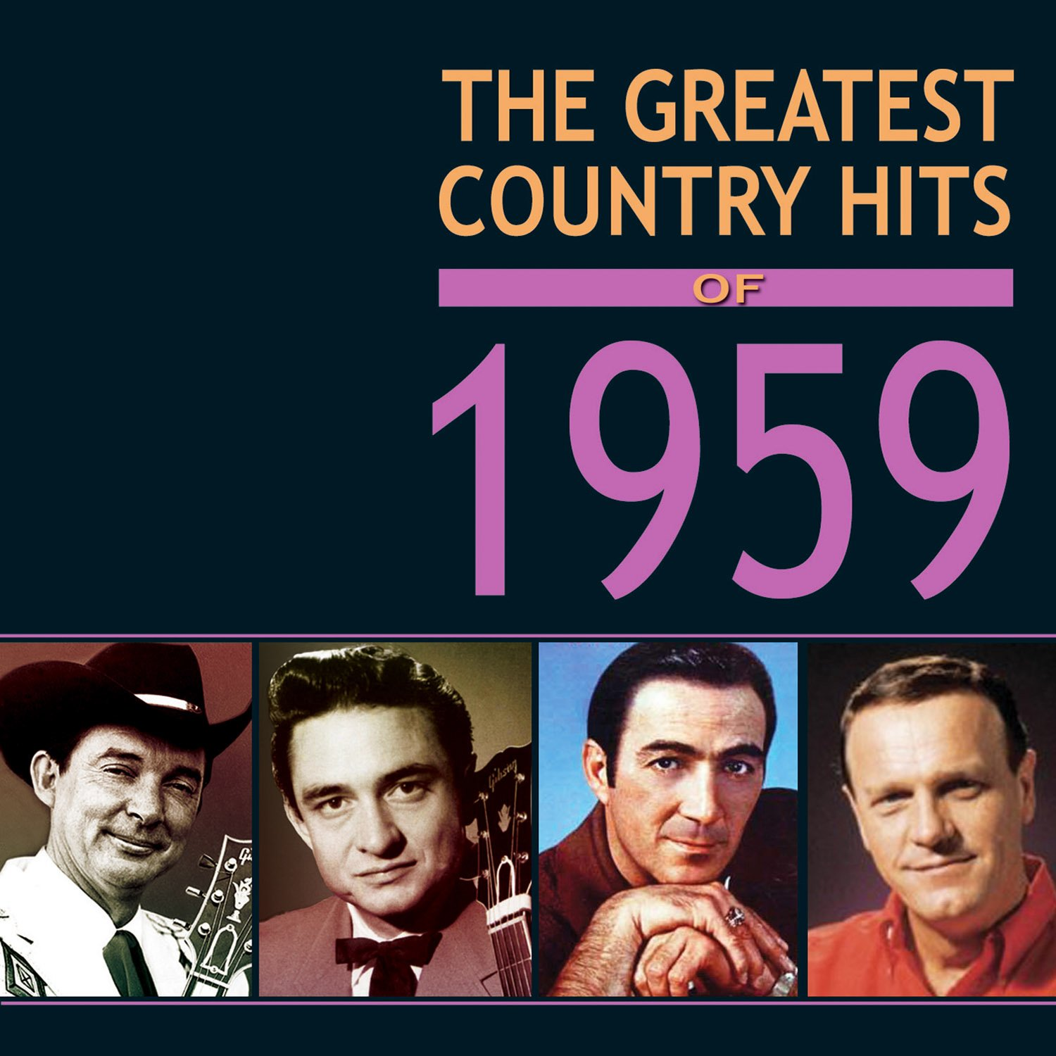 CD : VARIOUS ARTISTS - Greatest Country Hits Of 1959 / Various (4PC)