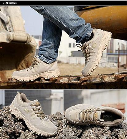 92ac48901f8ba Amazon.com: Outdoor Desert Men Hiking Shoes Military Tactical Boots ...
