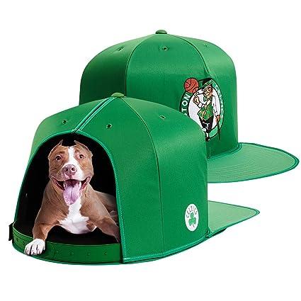e23ae835a39206 Amazon.com: NAP CAP NBA Boston Celtics Team Indoor Pet Bed, Green ...