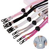 8 Pcs Fashion Adjustable Face Mask Lanyard Strap, Convenient Safety Mask Holder & Hanger - Comfortable Around The Neck…