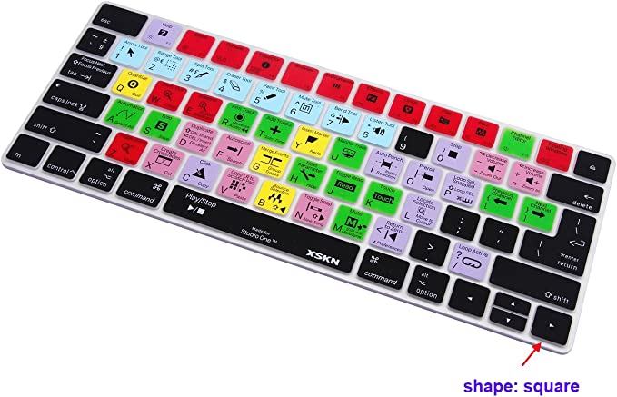 Released Since 2015 US/&EU Versions MLA22B//A XSKN Presonus Studio One 3 Silicone Shortcut Keyboard Skins are Compatible with Apple Magic MLA22LL//A