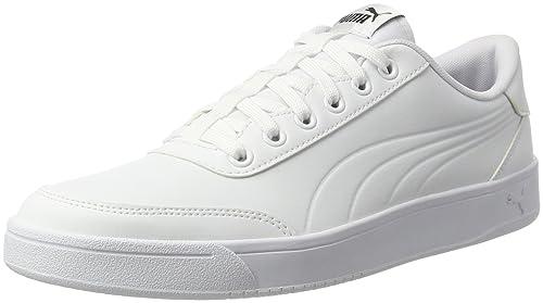Puma Smash V2 L, Zapatillas Unisex Adulto, Blanco (Puma White-Puma White 7), 42 EU
