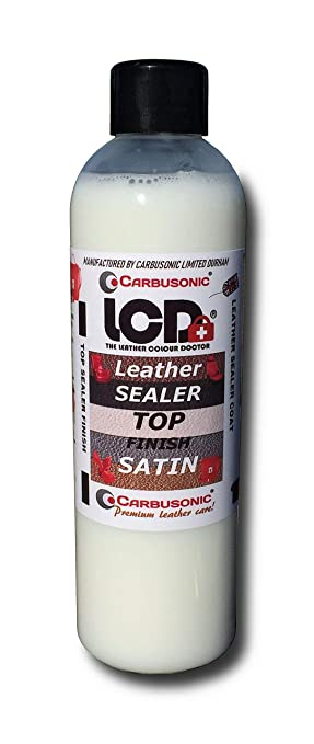 Acabado de cuero sellador superior de satén. Cubierta superior de piel resistente a los arañazos, resistente al agua, sellado de piel, apto para ...