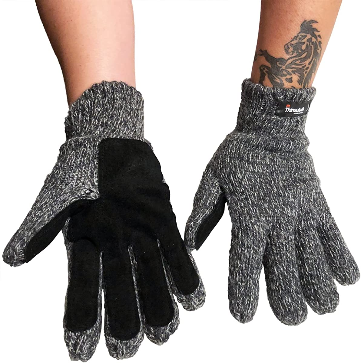 Oodoor Unisex 3M Thinsulate Knitted Glove