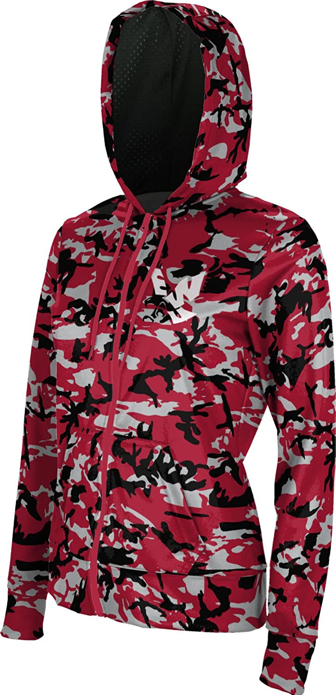 ProSphere Eastern Washington University Girls Zipper Hoodie Camo School Spirit Sweatshirt