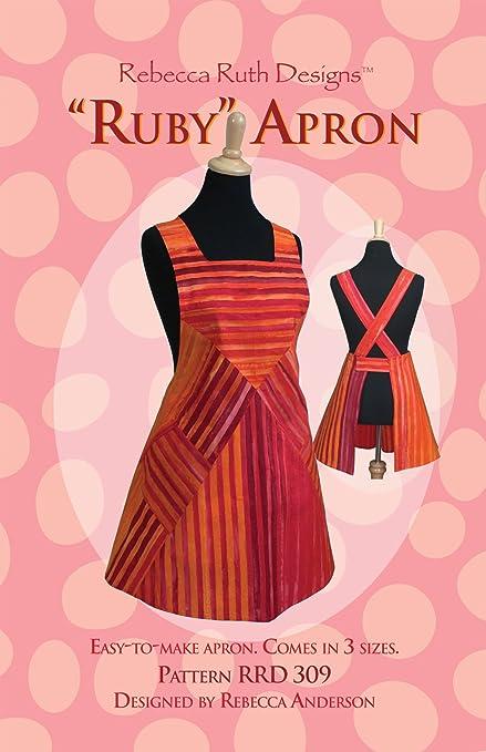 Amazon Ruby Apron Sewing Pattern Arts Crafts Sewing Simple Apron Sewing Pattern