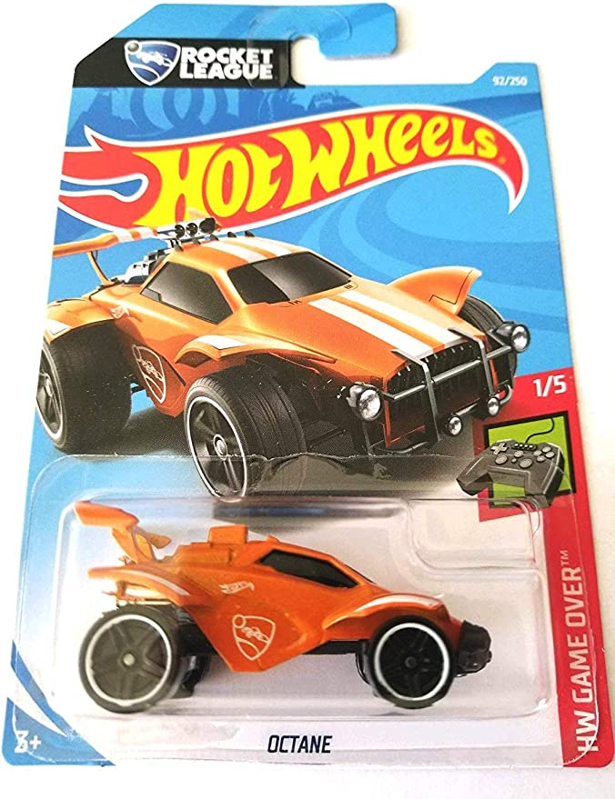 Hot Wheels 2019 2020 4 x Rocket League Octane neuf dans sa boîte! toutes les variantes