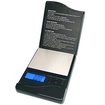 Báscula portátil/pesacartas KD de 100 de DIPSE 100 g x 0,01 g Varios Colores a Elegir - Báscula industrial, color negro 100g x 0,01g: Amazon.es: Oficina y ...