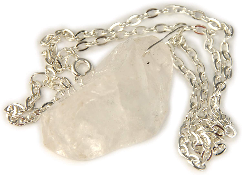 ViciBeads Unisex Pendant,Genuine Gemstone 2 Free Chain Bag