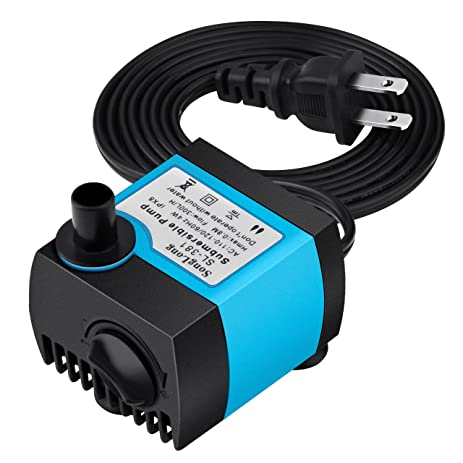 Amazon Com Homasy 80 Gph 300l H Submersible Water Pump For Pond