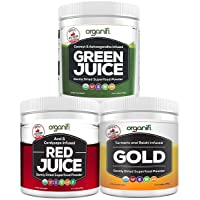 Organifi: Sunrise to Sunset Power Box (9.5 Oz. Each) - Superfood Powder - Green...