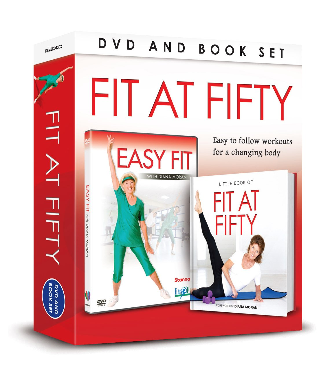 Download Fit at Fifty Book & DVD Set pdf