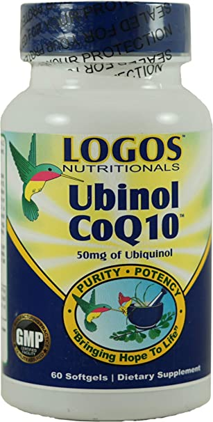 Amazon.com: Logos Nutritionals - Ubinol CoQ10 60 unidades ...