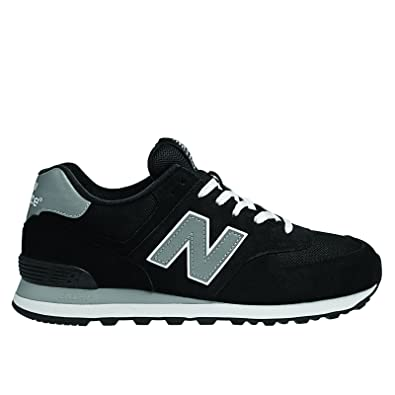 new balance 574 nero
