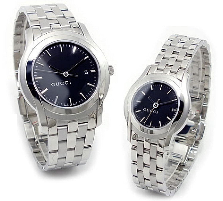 グッチ GUCCI Gクラス 腕時計 ペアセット YA055211-518 [並行輸入品] B00REGZMU6
