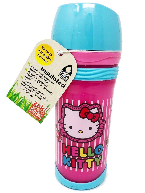 贈り物 Zakデザイン Cup oz。Hello Kitty Insulatedトラベルタンブラー/Sippy Kitty Cup 10 oz B07D1DLPG2, リアルシステム二号店:3dd69717 --- a0267596.xsph.ru