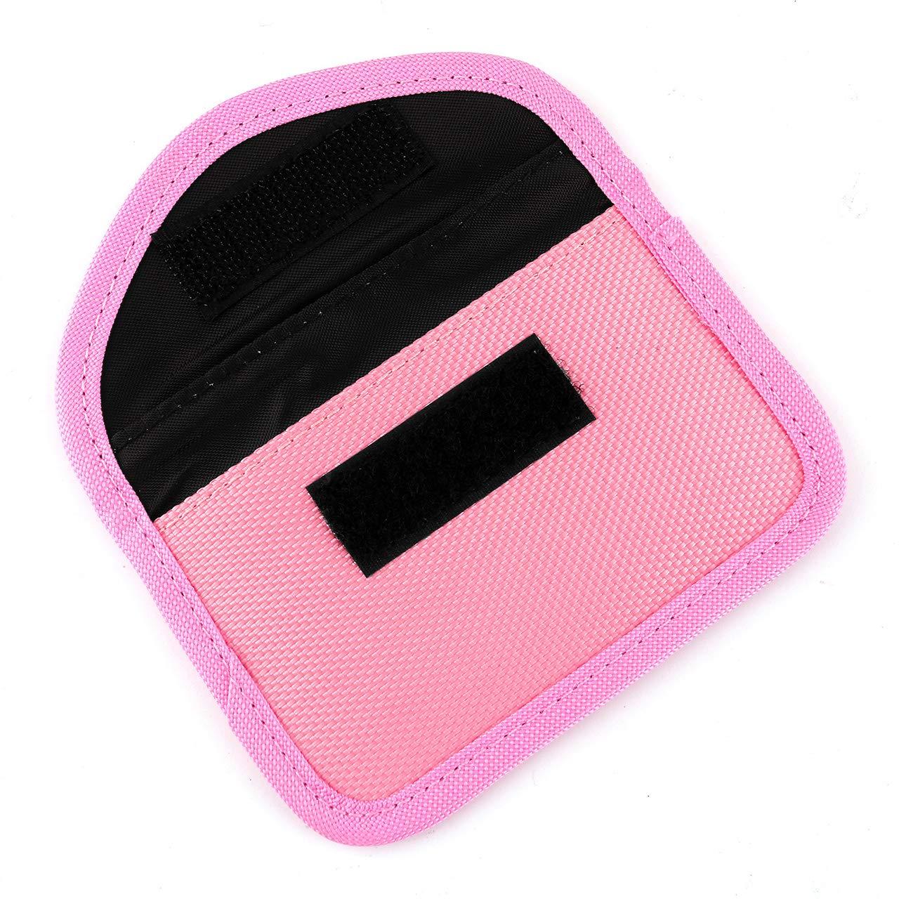 ACBungji Faraday Bag Schutz Blocker Keyless Go Autoschl/üssel Tasche NFC Schutzh/ülle Kreditkarte RFID Smartcard 8 * 12cm, Oxford-Tuch Horizontal Schwarz