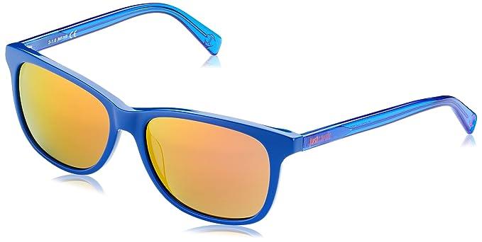 Just Cavalli JC671S 90G Gafas de Sol, Azul (Blau), 43 para ...