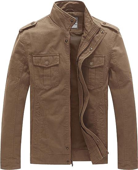 Classique Broderie Homme Printemps Automne Coton Militaire