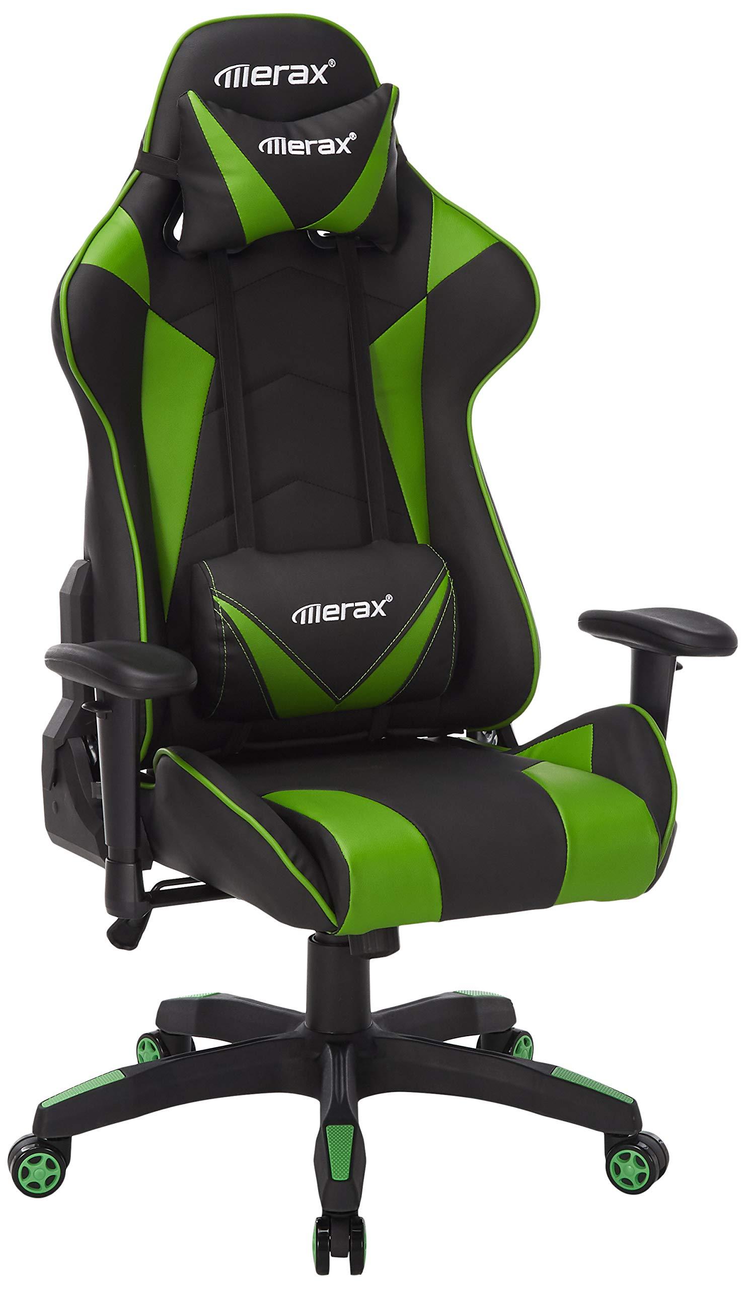 Merax Gaming Chair High Back Computer Chair Ergonomic Design Racing