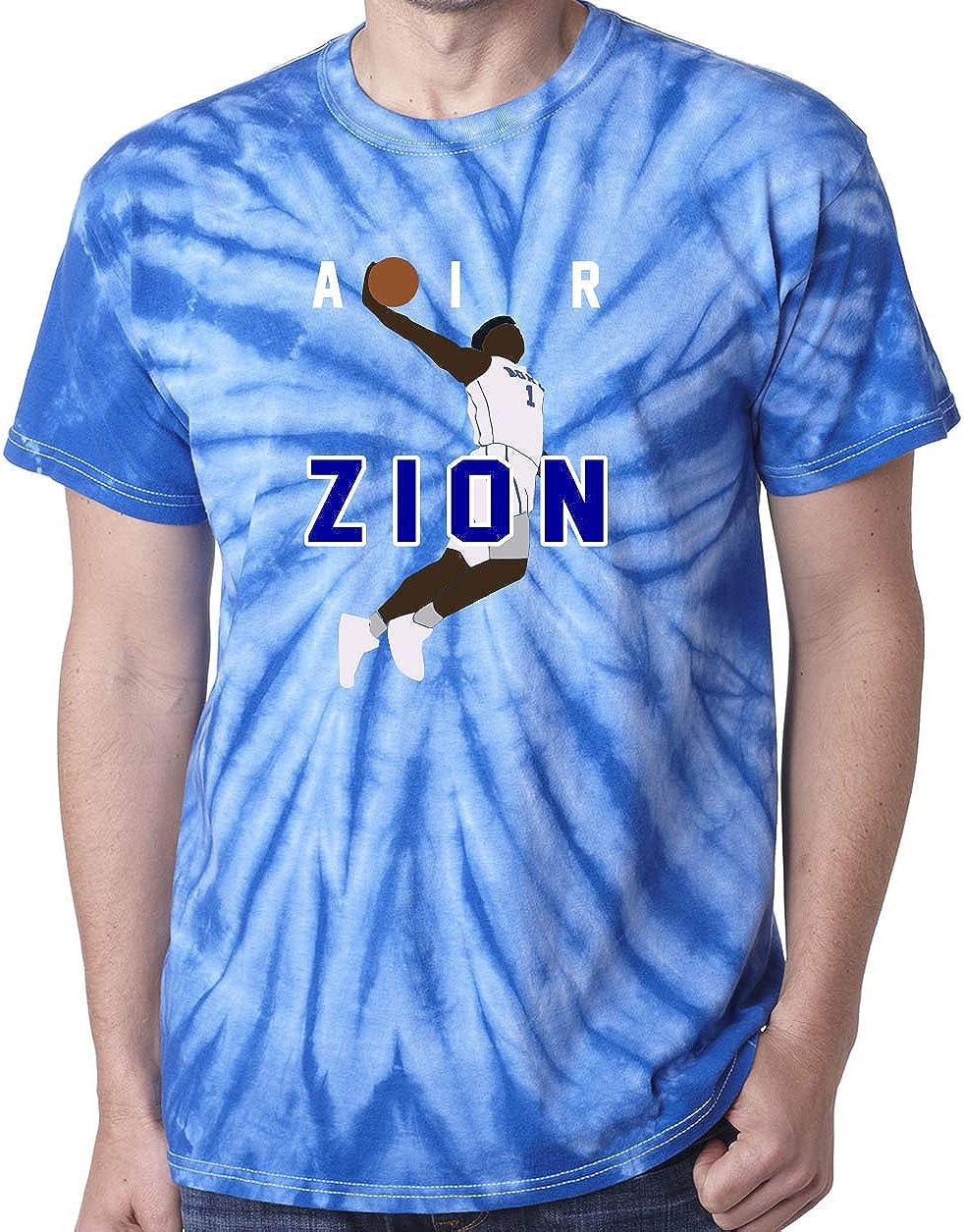 Tie-Dye blau Zion Duke blau Devils Luft Pic T-Shirt