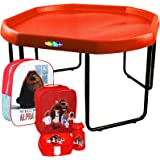 CrazyGadget Children Kids Tuff Spot with Stand Mixing Tray Large Plastic + ILLUMINATION The Secret Life Of Pets Official Kids Children School Travel Rucksack Backpack Bag and Lunch Bag Set