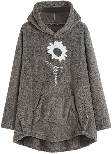 WARMWORD Abrigos con Capucha Suéter Mujer Chaquetas De Acolchado ...