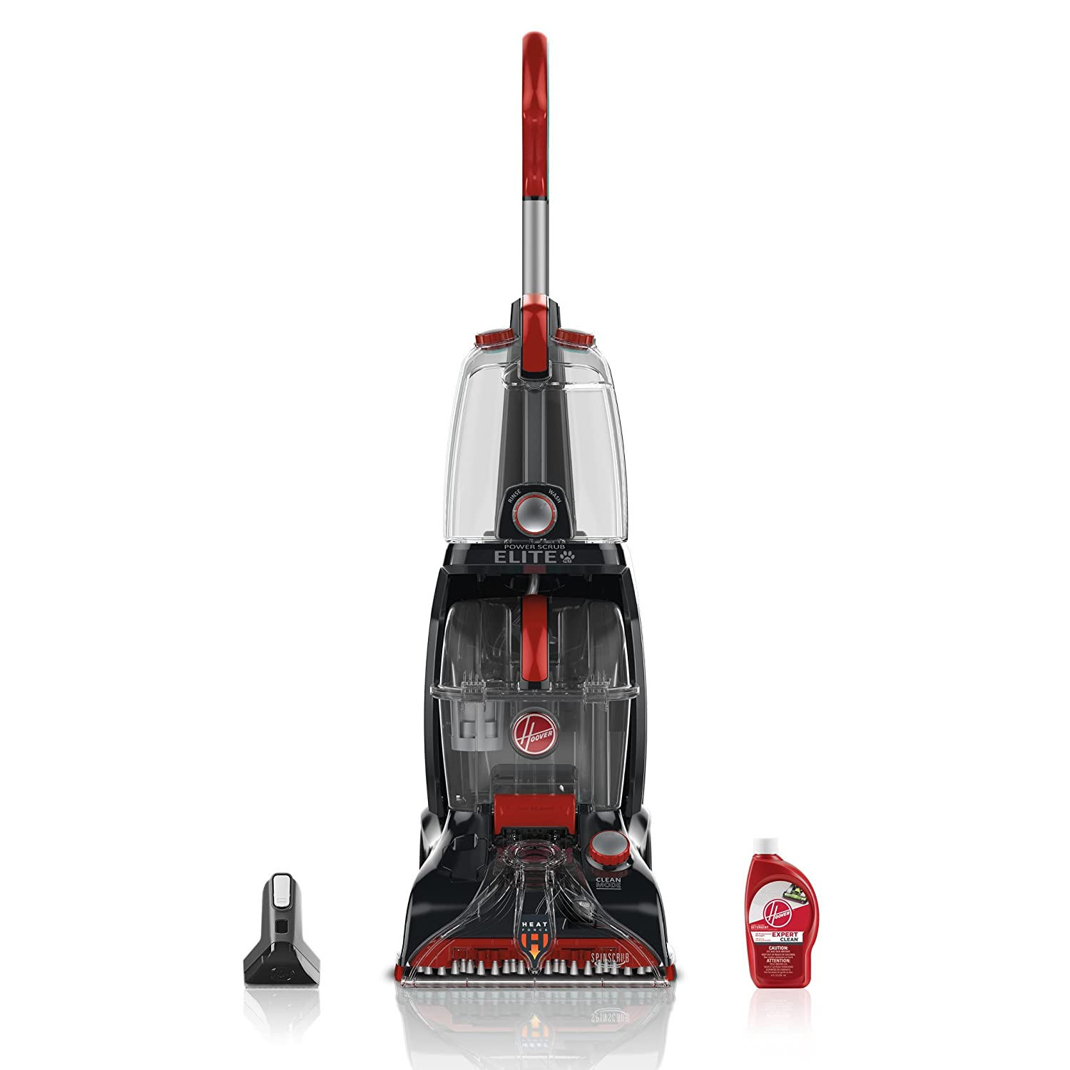 Hoover FH50251PC Power Scrub Elite Pet Carpet Cleaner (Renewed)