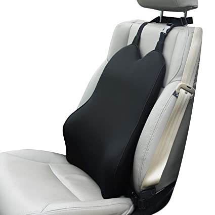 Dreamer Car Auto Seat Lumbar Support With 2 Straps Designed For SeatHigh Density