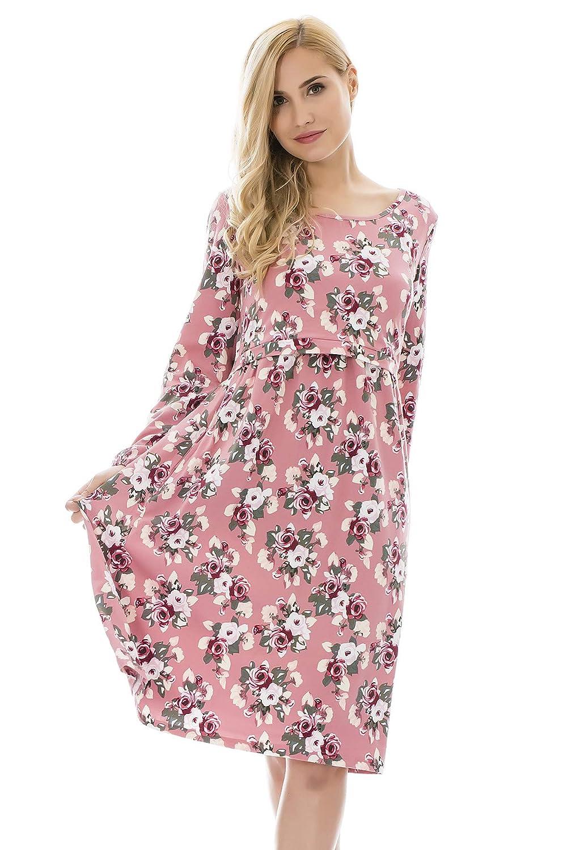 Bearsland DRESS B07JLRC7MS X-Large|Pinkflower Pinkflower X-Large