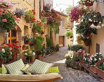 Foto Tapete Continental Mediterran Landschaft Architektur ...