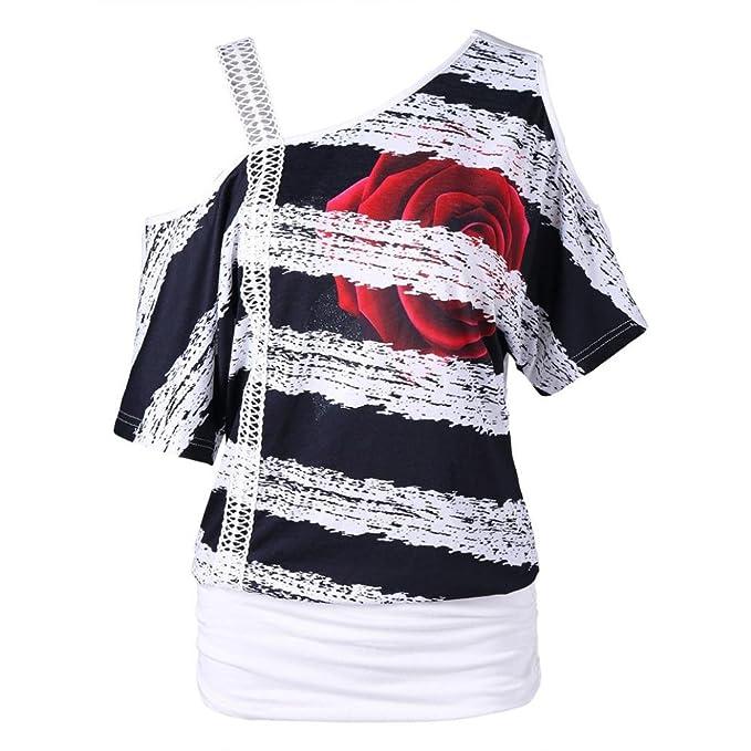 Blusas Camisetas Mujer Camisetas Mujer Verano Blusa Mujer Elegante Camisetas Tallas Grandes 2018 ❤ Manadlian