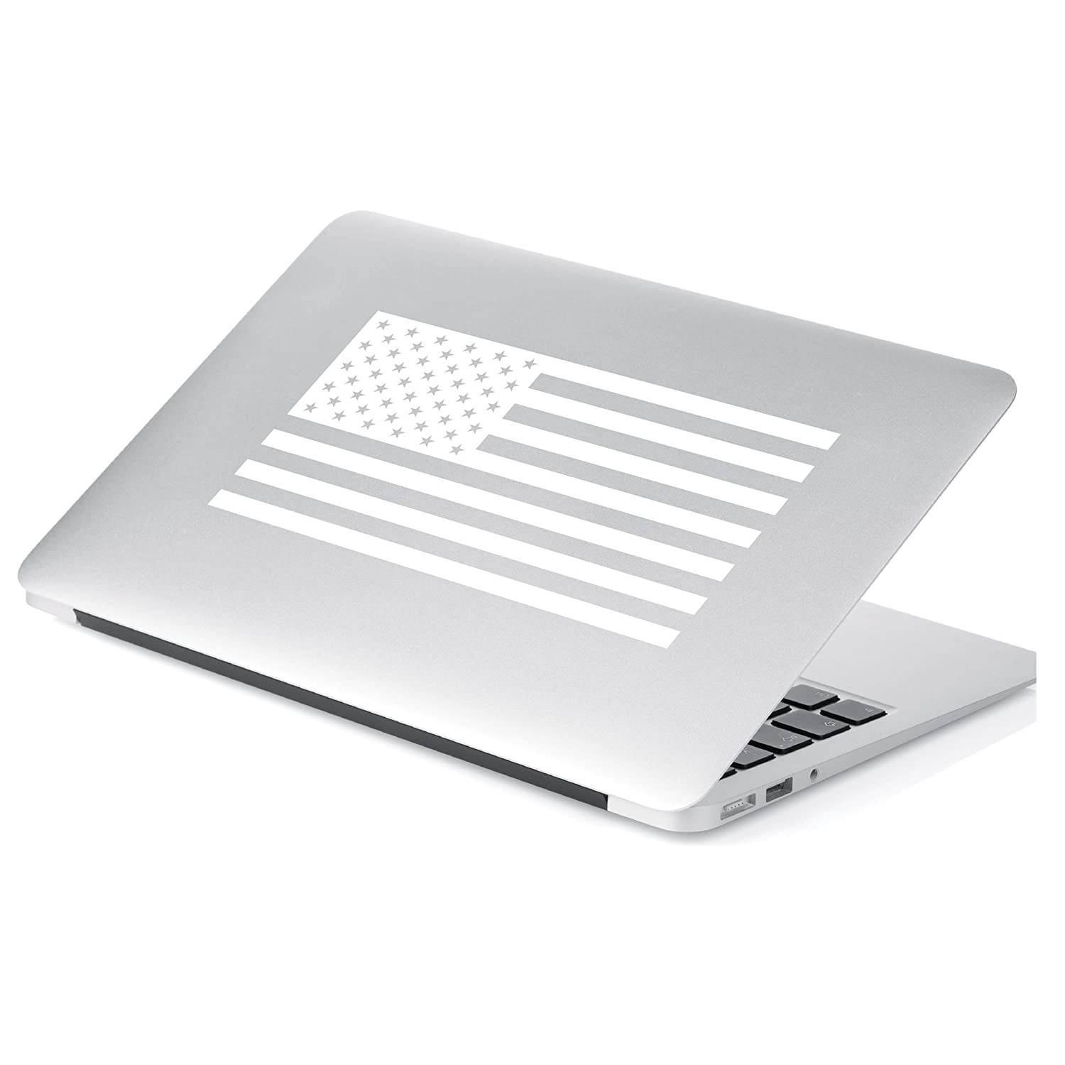 Laptop Black, 6 x 11.4 Motorcycle Yoonek Graphics Mirror and More # 559 6 x 11.4 Walls American Flag United States Decal Sticker for Car Window