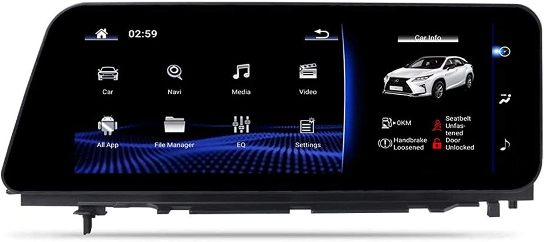 Espejo estéreo del Coche androide, Navi Lexus RX Sistema de navegación GPS 2016 carplay USB Unidad Jefe SWC 4G Wi-Fi BT inalámbrica integrada