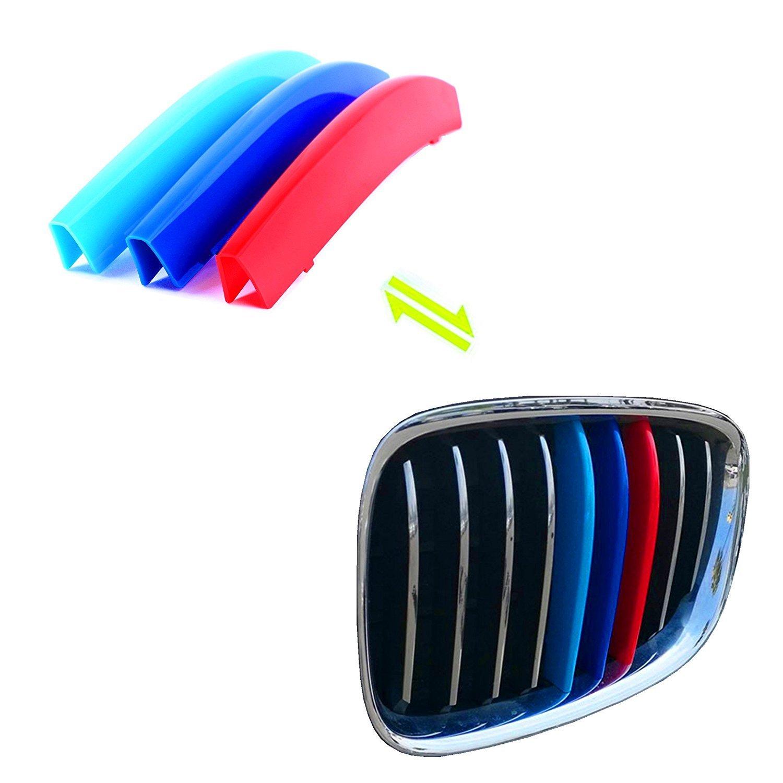 3D Coche Rejillas Frontales para E60 ABS 3 colores