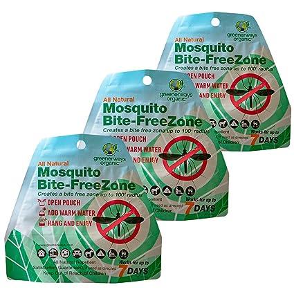 Amazon.com: Greenerways - Zona repelente de mosquitos ...