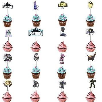 16 Pack Game Cupcake Toppers Birthday Party Supplies Dekoration Für
