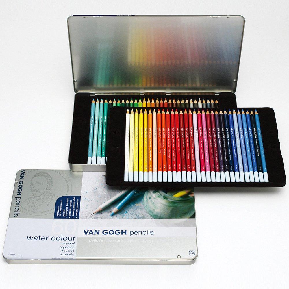 VAN GOGH Pencil 60 colored pencil Metal Case by Van Gogh (Image #2)