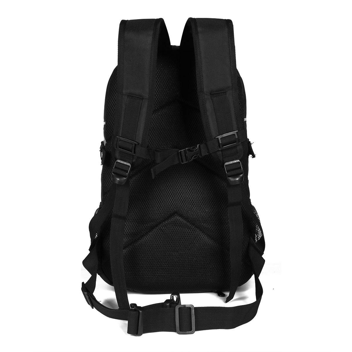 Advocator Moto Hommes Sac /à Dos avec Housse de pluie 14Inch Noir Laptop School Sacs /à dos Packsack Daypack Sacs /à bandouli/ère Sacs /à dos pour Voyage /& Bike /& Camping /& Outdoor Sports
