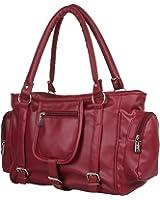 Glory Fashion Women's Handbag (Maroon,Bags Beautys)