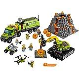 LEGO City Volcano Exploration Base 60124 Construction Toy, Building Toy