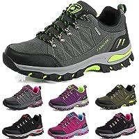 BOLOG Zapatos de Senderismo para Hombre Zapatos de High Cut Trekking Ocio al Aire Libre y Deportes Zapatillas de Running…