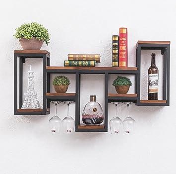 Eisen Wand Dekorative Regal Wohnzimmer Kreative Gitter