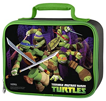 aeb87b55f880 Image Unavailable. Image not available for. Color  Thermos Teenage Mutant  Ninja Turtles Soft Lunch Bag