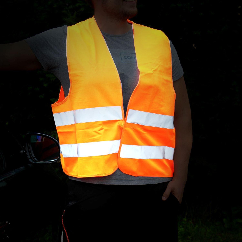 LEINA-WERKE Pannen-Warnwesten orange//13100 verpackt im Beutel